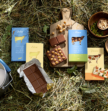 Sprüngli, edle Schweizer Schokolade
